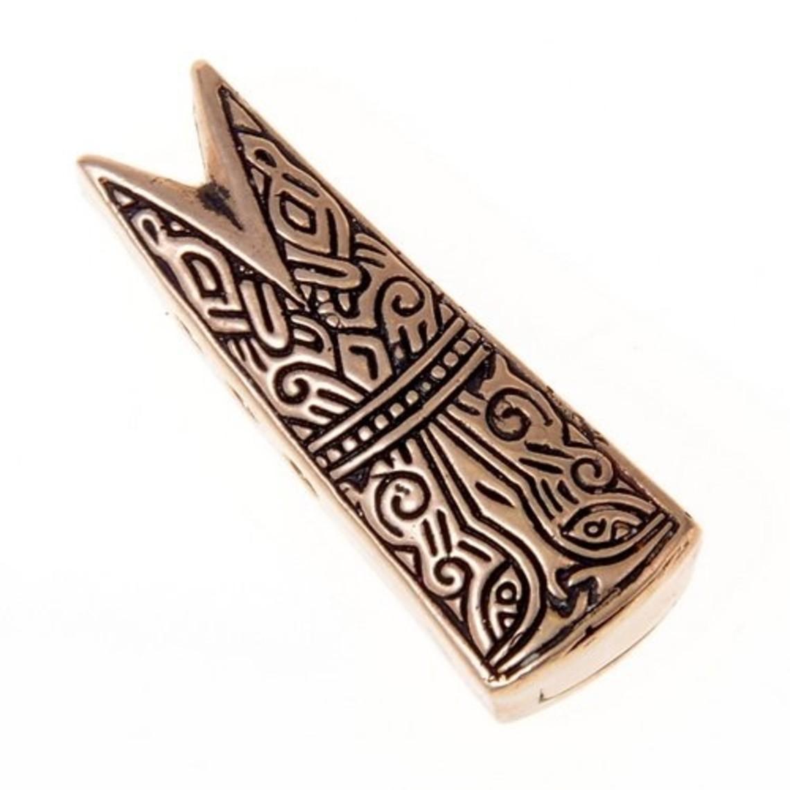 Gotland Vissenkopsieraad L, brons