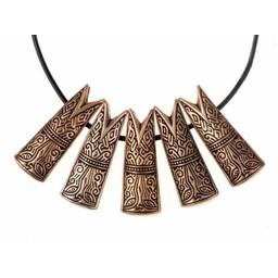 Gotland Fischkopf Juwel L, Bronze