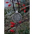 Anglosajona amuleto de serpiente, plateado