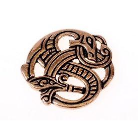 Viking dragen vedhæng, bronze