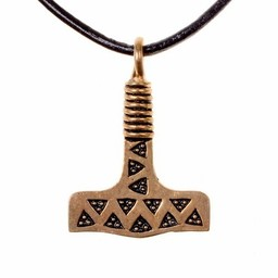 Tors hammare från Valse, brons