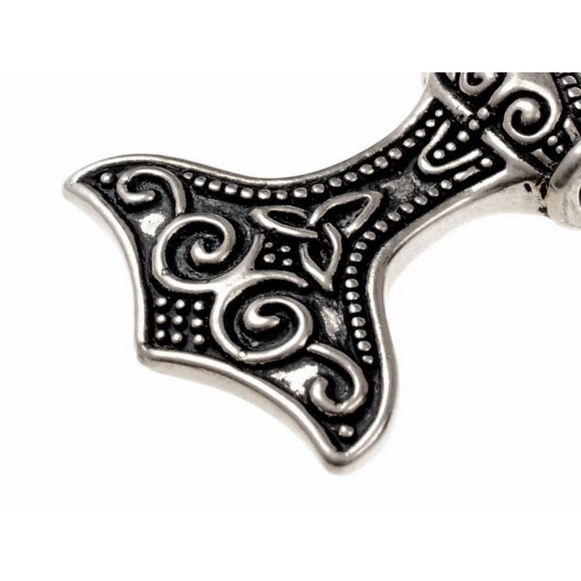 Rusvik Thor's hammer, silvered