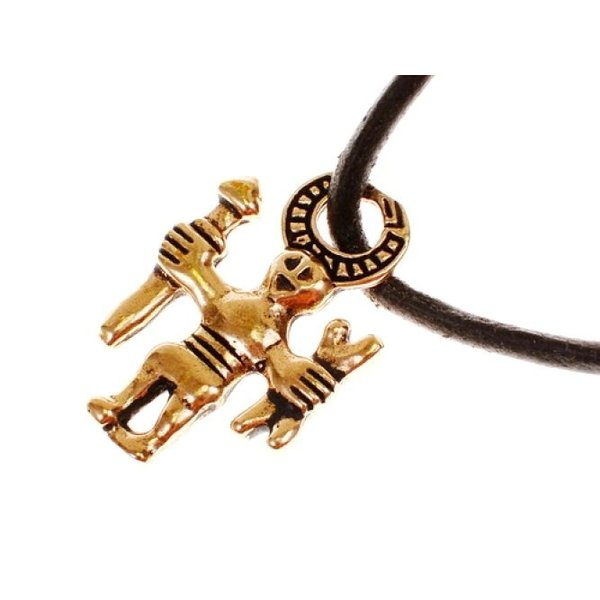 Odin amulette Uppland, bronze