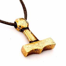 Thors Hammer aus Sejro, Bronze