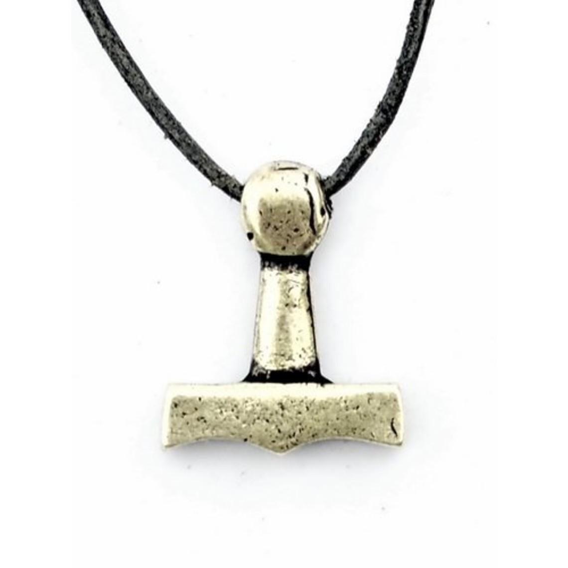 el martillo de Thor de Sejro, plateado