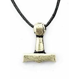 Młot Thora z Sejro, posrebrzane