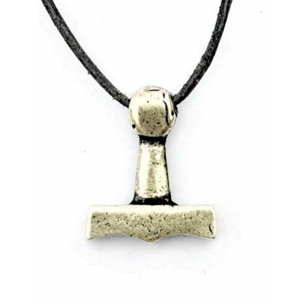 Thors hammer fra Sejro, forsølvede