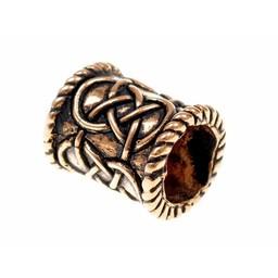 Cilíndrica del grano barba, bronce