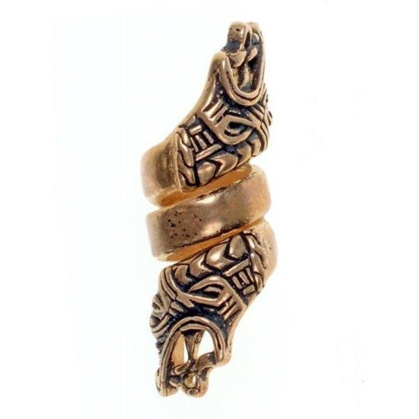 Viking skæg bead Hedeby, bronze