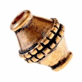 Viking beard bead Ingmar, bronze