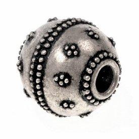 Vichingo la barba tallone Gotland, bronzo argentato