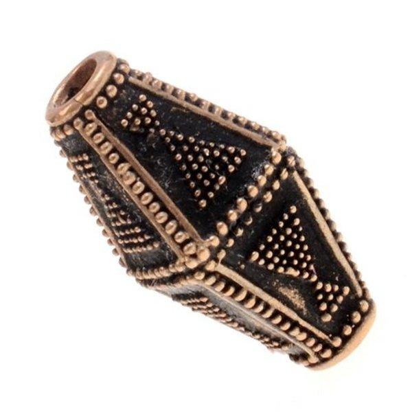Viking bead Rollo, bronze