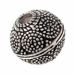 Viking bead Horsa, silvered