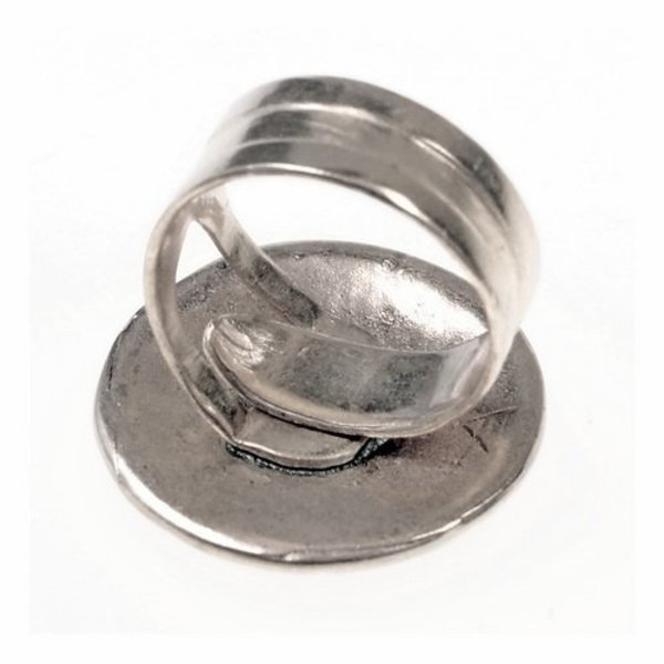 Celtic ring med knude motiv, bronze