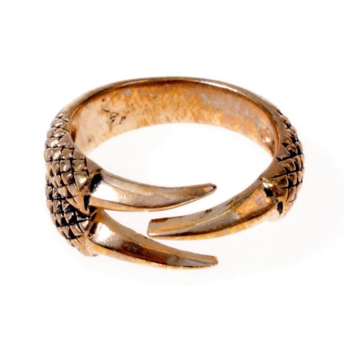 Anillo de garra de dragón, bronce