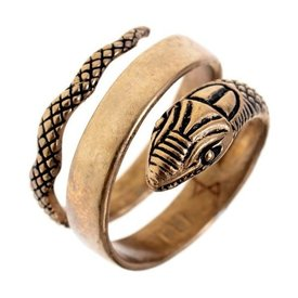 Roman orm ring, brons
