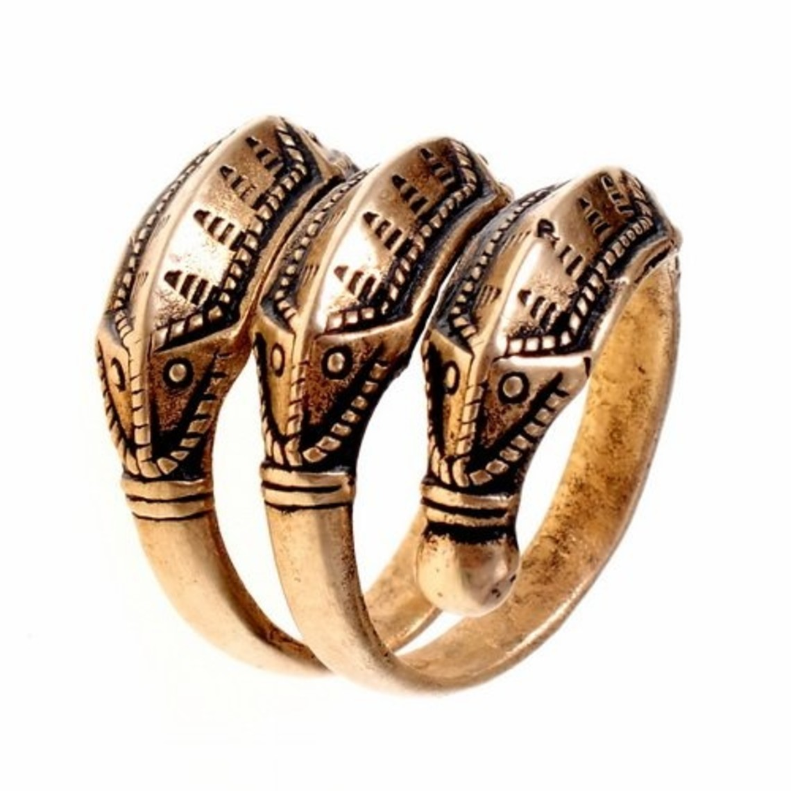 La edad de hierro anillo Himlingoje, bronce