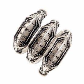 Iron Age pierścień Himlingoje, posrebrzane