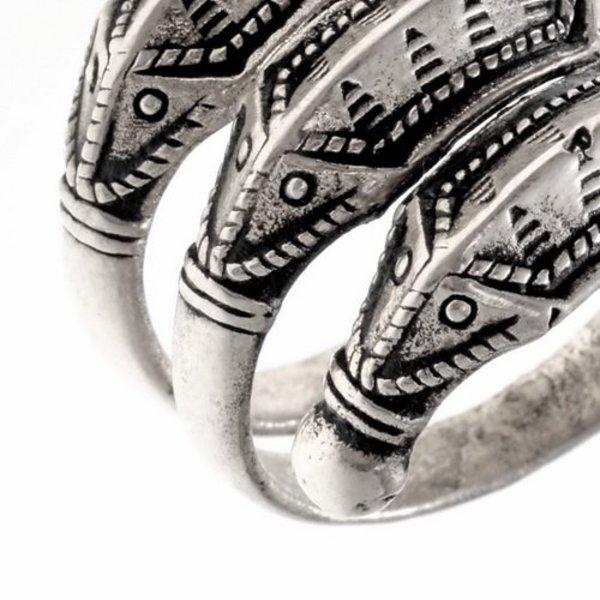 Età del Ferro anello Himlingoje, argentato