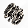 Edad del Hierro germánica anillo Naustdal, plateado