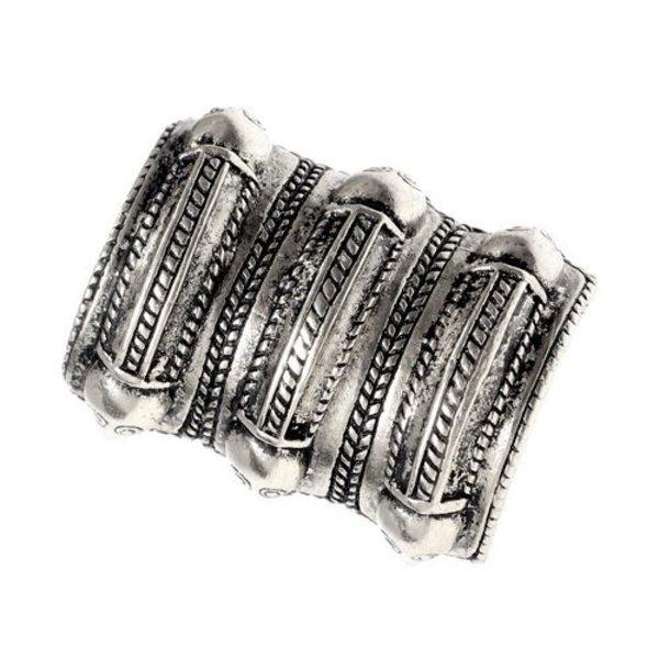 Germanique anneau de fer Âge Segerstad, argentait