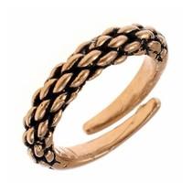 Nono-decimo secolo anello vichingo, bronzo