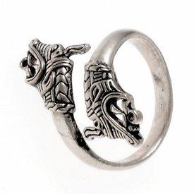 Vichingo Haithabu anello, argentato