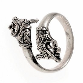 Viking pierścień Haithabu, posrebrzane
