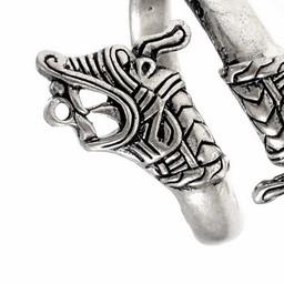 Vikingring Haithabu, verzilverd