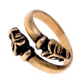 anillo de Islandia de Viking, bronce