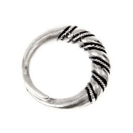 De Viking anillo Danelaw, argentado