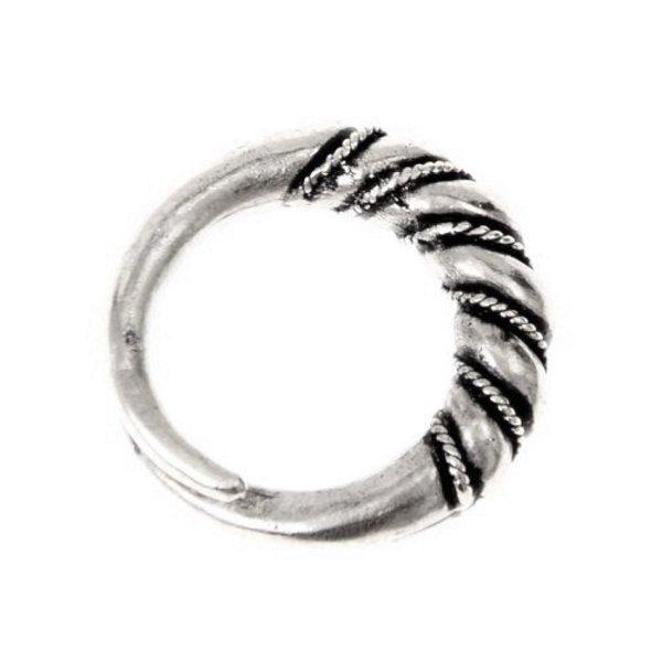 Vichingo anello Danelaw, argentato