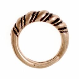 Viking pierścień Danelaw brązu