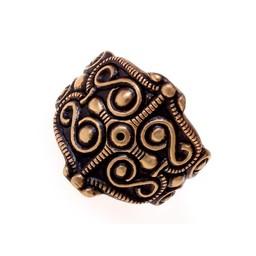 anillo de gala La Tene, bronce