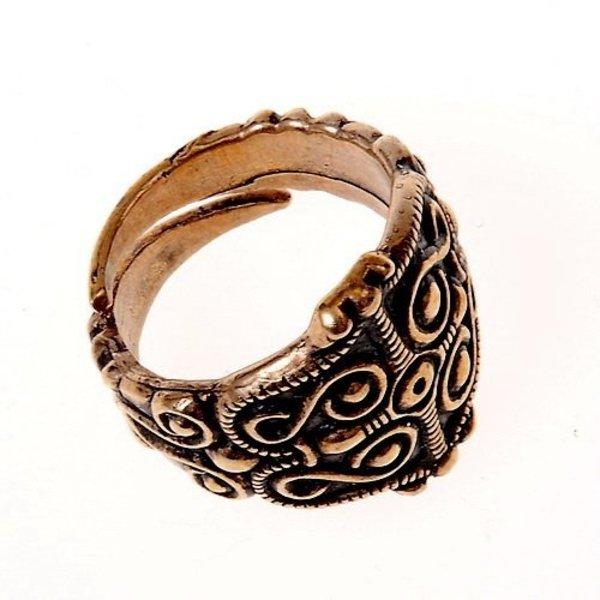 Gaulish ring Laténe, bronze