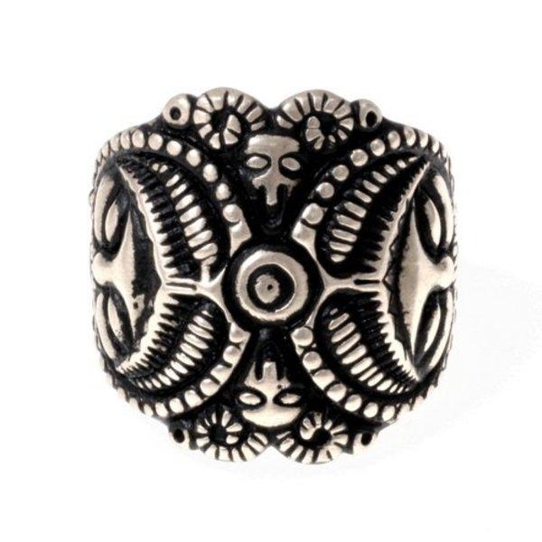Keltiske La Tène ring, bronze