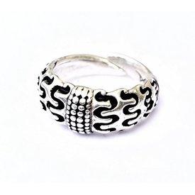Vichingo anello Orupgaard, argentato