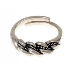 De Viking anillo Wolin, argentado