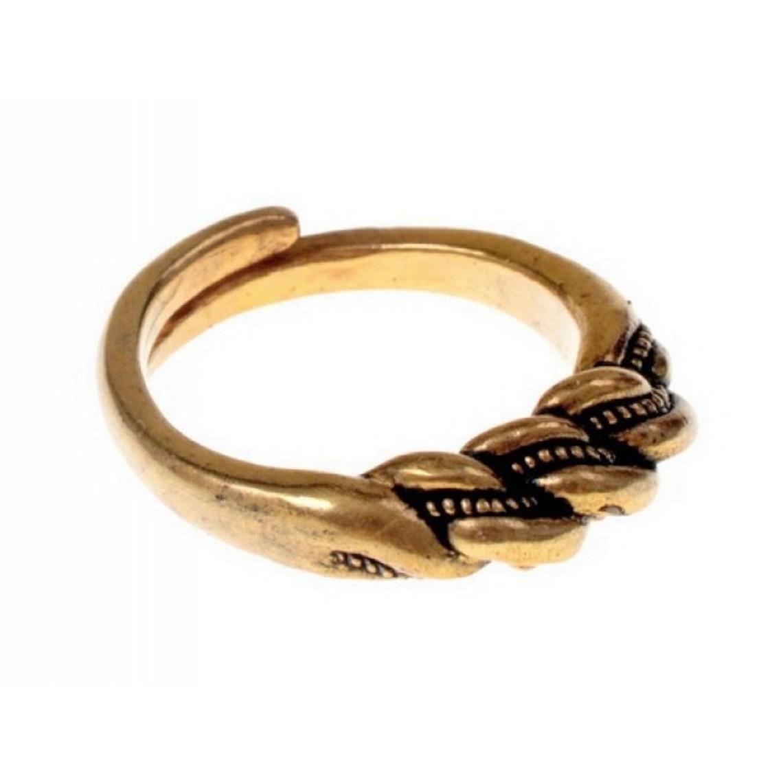 Vichingo anello Wolin, bronzo