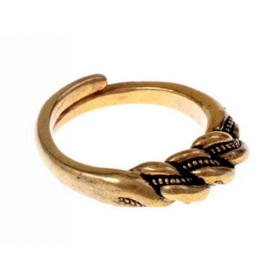 Vikingo anillo de Wolin, bronce