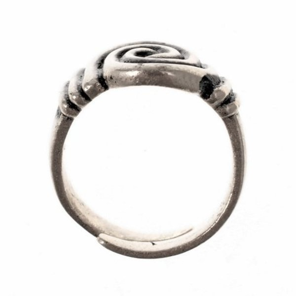 Anglo-Saxon ring 7th-8th century, silvered