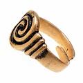 Angelsaksische ring 7de-8ste eeuws, brons