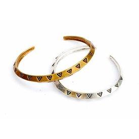 Viking pengar armband (SOG), XL, försilvrade