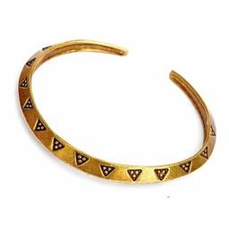 Viking money bracelet (sog), XL, bronze