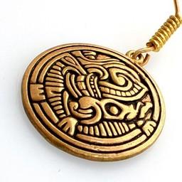 Vichinga Birka orecchini, bronzo