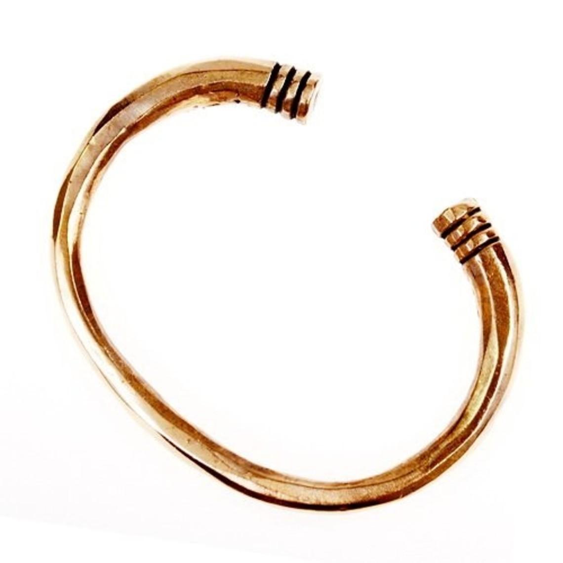 braccialetto merovingia, bronzo