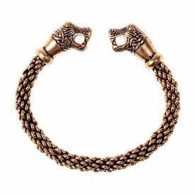 Oseberg vichingo braccialetto S, bronzo