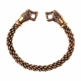 Oseberg Viking armband L, brons