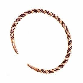 Vikingo pulsera Halsingland, bronce