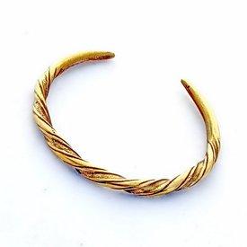 Vichingo braccialetto Danelaw, bronzo